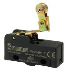 MN2MIM1YМини-выключатель с стальным роликом и пружиной на коротком рычажке