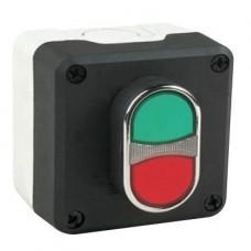 P1C3Y4K20 кнопочный пост управления с подсветкой светодиод-зеленый 100-250В