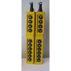 PVK20E Пульт-пост управления буровой установкой, 20 кнопок управления с нанесенными на них специальн