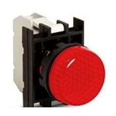 B060XK Арматура сигнальная красная со светодиодом 12-30 В перем. и пост. тока