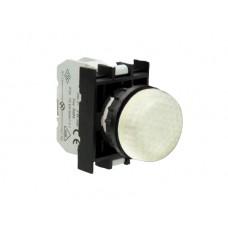 CP050XCP Арматура сигнальная белая со светодиодом 12-30 В перем. и пост. тока