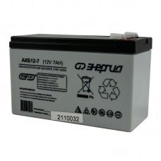 Аккумулятор  АКБ 12-7   Энергия