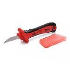 Нож монтерский диэлектрический с прямым лезвием НМИ-02 (КВТ)