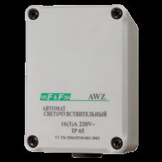 AWZ встроенный фотодатчик, с внутренним подключением, монтаж на плоскость 230В 16А  1Z 65