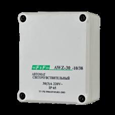 AWZ-30-10/38 выносной герметичный фотодатчик, монтаж на плоскость 230В 30А 1Z 65