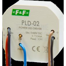 PLD-02 блок питания для светодиодов  с током потребления 750 мА 5 - 40В DC   20