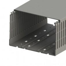 Кабель-канал перф. с крышкой, 25x60 (ШxВ), (упак. 60м); KKC 2560