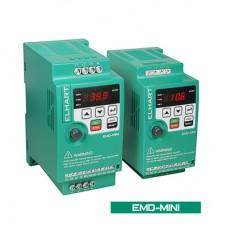 EMD-MINI – 015 S Преобразователь частоты ELHART (1,5кВт, 7А, 220В)