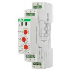 PCR-513 с задержкой включения, 1 модуль, монтаж на DIN-рейке 230В  8А  1Р 20