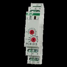 PCR-515 с задержкой включения, 1 модуль, монтаж на DIN-рейке 230В AC/24B AC/DC  2х8А  2Р  20