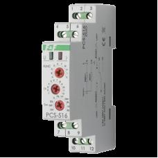 PCS-516 многофункциональное, с входами START и RESET, 1 модуль, монтаж на DIN-рейке 230В AC/24B AC/D