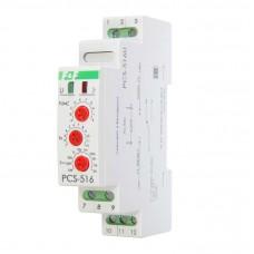 PCS-516U  многофункциональное, с входами START и RESET, 1 модуль, монтаж на DIN-рейке 12-264В AC/DC