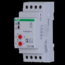 CKF-BR  регулируемые ассиметрия  и  время  отключения,2 модуля, монтаж на DIN-рейке 3х400/230+N 2х8А