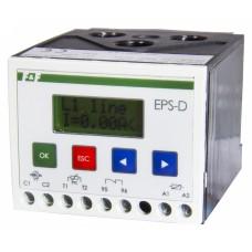 EPS-D100  диапазон токов 20-100А, LCD дисплей, габариты 72х59х88мм, монтаж на DIN-рейке 230В 2А 1Z 2