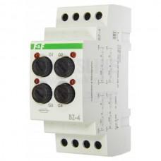 BZ-4    NEW!  предохранитель для монтажа на DIN-рейке, индикатор срабатывания  4  шт, 1 модуль,  230