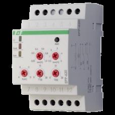 EPP-620    многофункциональное, двухпороговое (0,02-1А; 0,5-5A), 3 модуля, монтаж на DIN-рейке 24-26