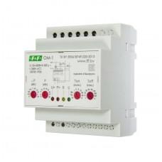 ОМ-1 однофазный, многофункциональный,диапазон , 3- 30 кВт, 4 модуля, монтаж на DIN-рейке 50-260В АС