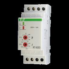 RT-820 диапазон температур от +4 до +30° С, выносной датчик, 2 модуля, монтаж на DIN-рейке 50-264 В