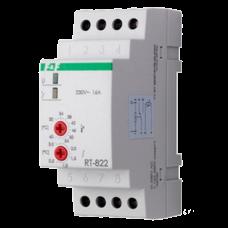 RT-822 диапазон температур от +30 до +60°С, выносной датчик, 2 модуля, монтаж на DIN-рейке 50-260 В