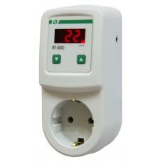 RT-800     NEW! диапазон температур -20 до +130°С, цифровая индикация, ,тип корпуса вилка-розетка 23