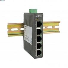 EDS-205 Компактный 5-портовый неуправляемый коммутатор 10/100 BaseT(X) Ethernet, в пластиковом корпу