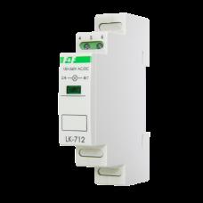 LK-712 сигнализация наличия одной фазы,  1 модуль, монтаж на DIN-рейке 230В   20