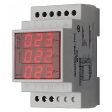 WT- 3-1000  трехфазный, для работы с трансформаторами тока 800/5, 1000/5, 1200/5,1500/5, 3 модуля, м