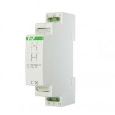 ZI-20   импульсный, мощность 12Вт, Uвых. 12В DC,  1 модуль,  монтаж на DIN-рейке 100-264 В AC 1