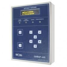 Шкаф управления ВОДОГРЕЙНЫМ или ПАРОВЫМ котлом на базе САФАР-400