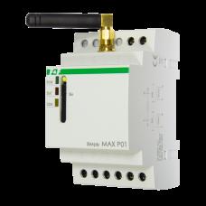 SIMply MAX Р01 встроенный GSM-коммуникатор, 2 входа и 2 выхода. Реле для дистанционного контроля сос