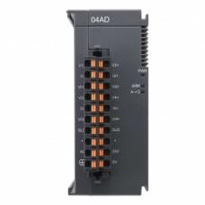 AS04AD-A  Модуль расширения AS, 4 AI, потенциальный и токовый режимы