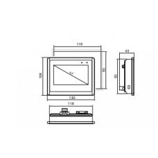 "ELP-04 — Панель оператора 4.3"""